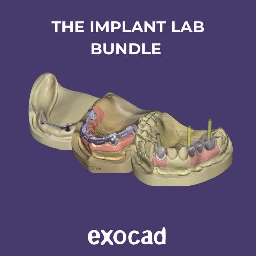Exocad Implant Lab Bundle